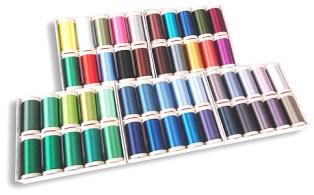 rayon thread rolls