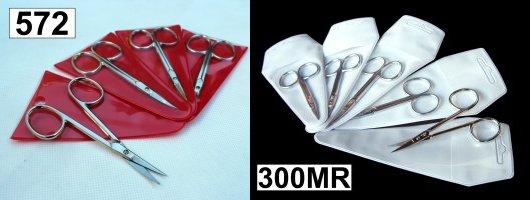 double hoop thread clips
